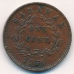 Саравак, 1 цент (1930 г.)