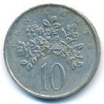 Ямайка, 10 центов (1987 г.)