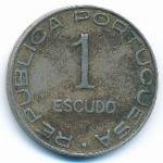 Мозамбик, 1 эскудо (1936 г.)