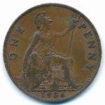 Великобритания, 1 пенни (1936 г.)