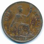 Великобритания, 1 пенни (1938 г.)