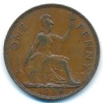 Великобритания, 1 пенни (1939 г.)