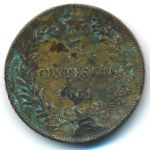 Италия, 5 чентезимо (1861 г.)