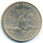 Французская Полинезия, 100 франков (1976 г.)