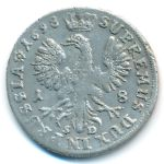 Бранденбург-Пруссия, 18 грошей (1698 г.)