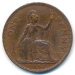 Великобритания, 1 пенни (1937 г.)
