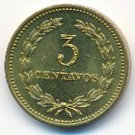Сальвадор, 3 сентаво (1974 г.)