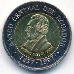 Эквадор, 100 сукре (1997 г.)