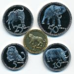 Родезия, Набор монет (2018 г.)