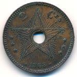 Свободный штат Конго, 2 сентима (1888 г.)