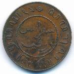 Нидерландская Индия, 1 цент (1912 г.)