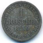 Ганновер, 1 грош (1859 г.)