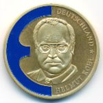 Germany, 1 ecu, 1998