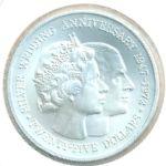 Каймановы острова, 25 долларов (1972 г.)