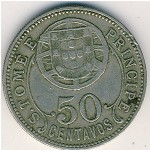 Sao Tome and Principe, 50 centavos, 1928–1929