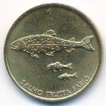 Словения, 1 толар (1992 г.)
