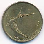 Словения, 2 толара (1992 г.)