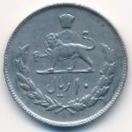 Иран, 10 риалов (1974 г.)