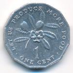 Ямайка, 1 цент (1980 г.)