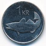 Исландия, 1 крона (2005 г.)