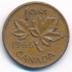 Канада, 1 цент (1965 г.)