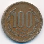 Чили, 100 песо (1984 г.)