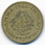 ЮАР, 1/2 цента (1964 г.)