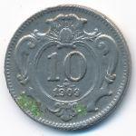 Австрия, 10 геллеров (1909 г.)