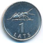Латвия, 1 лат (2003 г.)