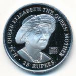 Сейшелы, 25 рупий (2000 г.)