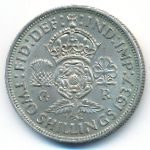 Великобритания, 2 шиллинга (1937 г.)