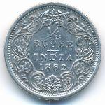 Британская Индия, 1/4 рупии (1862 г.)