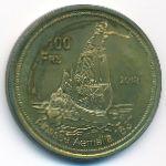 Острова Глорьез, 100 франков (2013 г.)