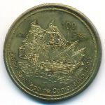 Остров Жуан-ди-Нова, 100 франков (2013 г.)