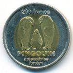 Французские Южные и Антарктические Территории, 200 франков (2011 г.)