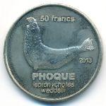 Земля Адели, 50 франков (2013 г.)