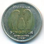 Земля Адели, 200 франков (2011 г.)