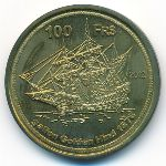 Остров Европа, 100 франков (2012 г.)