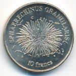 Остров Клиппертон, 10 франков (2011 г.)