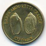 Уоллис и Футуна, 100 франков (2011 г.)