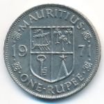 Маврикий, 1 рупия (1971 г.)