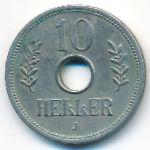 Немецкая Африка, 10 геллеров (1910 г.)