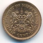 Сьерра-Леоне, 1/2 цента (1980 г.)