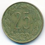 Западная Африка, 25 франков (1975 г.)