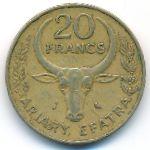 Мадагаскар, 20 франков (1989 г.)