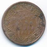 Британская Индия, 1/4 анны (1862 г.)