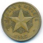 Куба, 1 песо (1985–1987 г.)