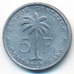 Руанда-Урунди, 5 франков (1959 г.)