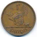 Ирландия, 1 пенни (1943 г.)