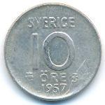 Швеция, 10 эре (1957 г.)